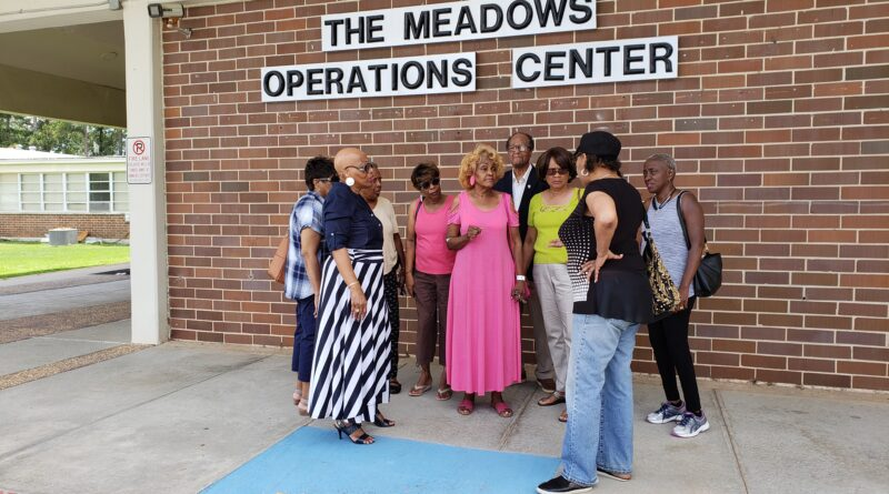 Jackson Calls for Support, Opposes School Board Vote to Demolish Meadows Center