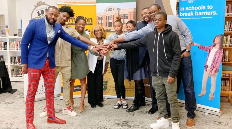 Partners Gift Langston Hughes High with Free 10G Hotspots