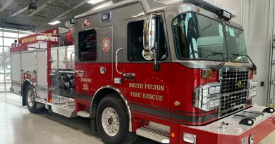 South Fulton Fire Department Push-In Ceremony