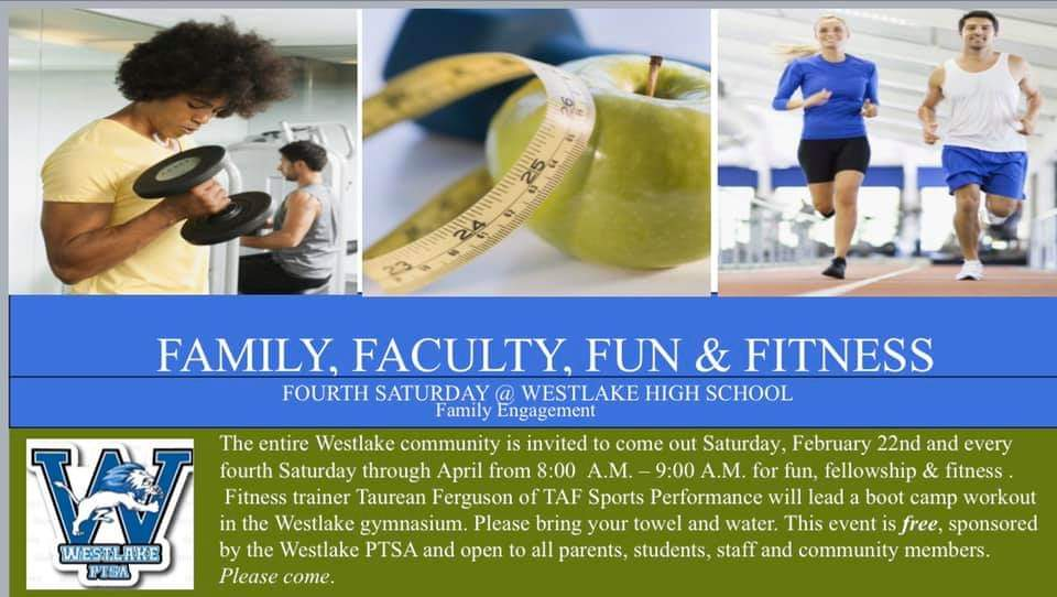 Westlake High Free Fitness Boot Camp
