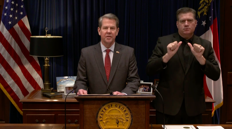 Governor Brian Kemp - State of Emergency