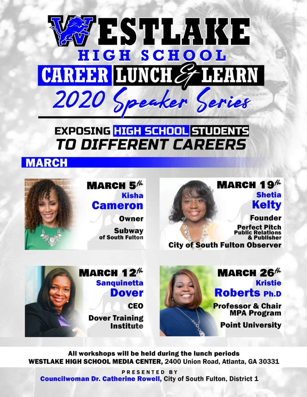 Westlake High School Career Lunch and Learn